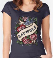 BadWolf Tattoo Women's Fitted Scoop T-Shirt