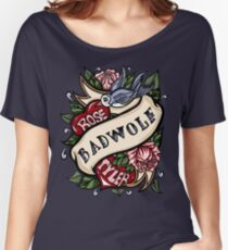 BadWolf Tattoo Women's Relaxed Fit T-Shirt