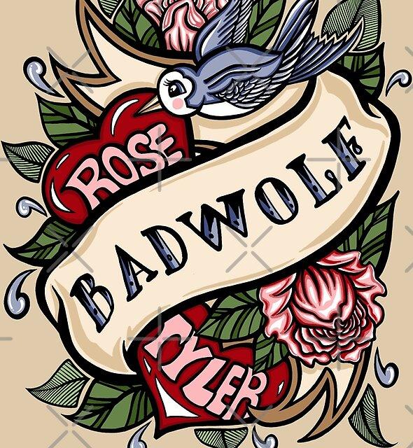 BadWolf Tattoo by Ameda