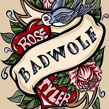 BadWolf Tattoo by Ameda