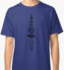 White Planets Classic T-Shirt