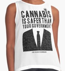 Cannabis is Safer Than Your Government Contrast Tank