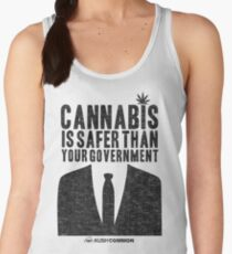 Cannabis is Safer Than Your Government Women's Tank Top