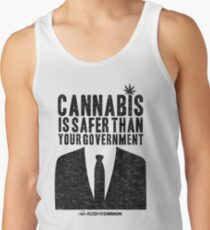 Cannabis is Safer Than Your Government Tank Top