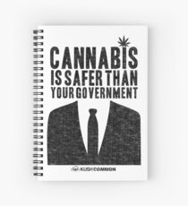 Cannabis is Safer Than Your Government Spiral Notebook