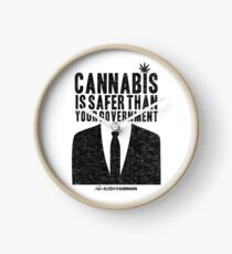 Cannabis is Safer Than Your Government Clock
