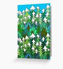 Winter's Forest  Greeting Card