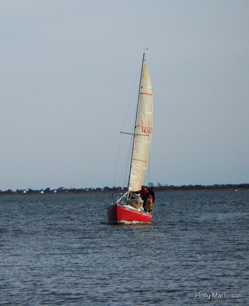 Sunday Sailing by Holly Martinson