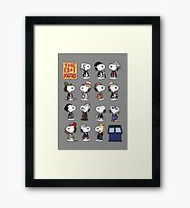The 13 + 1 Dogtors Framed Print