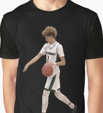 LaMelo Ball From Half Court Low Poly Graphic T-Shirt