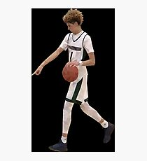 LaMelo Ball From Half Court Low Poly Photographic Print