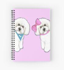 Bichon Frise Love, Dog, Bichon, Holiday gift, Christmas gift, Spiral Notebook