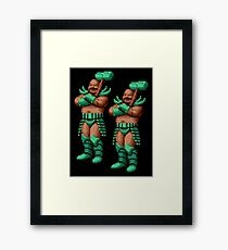 Golden Axe Bad Brothers Framed Print