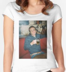 Marshall Eriksen HIMYM Intro Women's Fitted Scoop T-Shirt