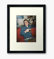 Marshall Eriksen HIMYM Intro Framed Print