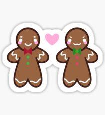Gingerbread Cuties Sticker