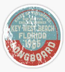Key West Beach Sticker