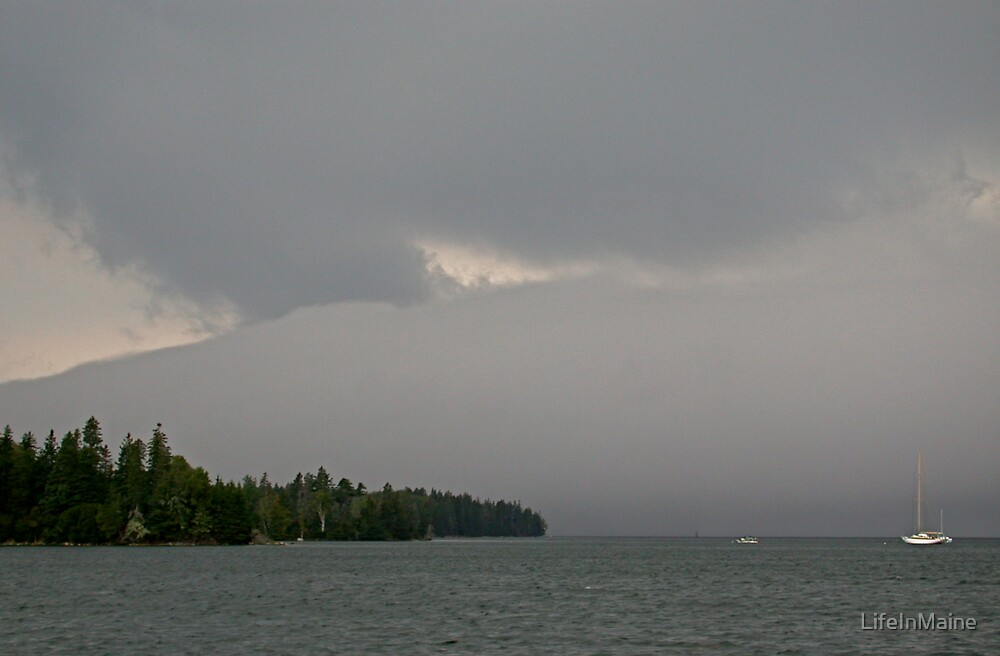 Storm Brewing by LifeInMaine