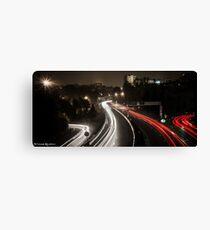 Highway's Lights Canvas Print
