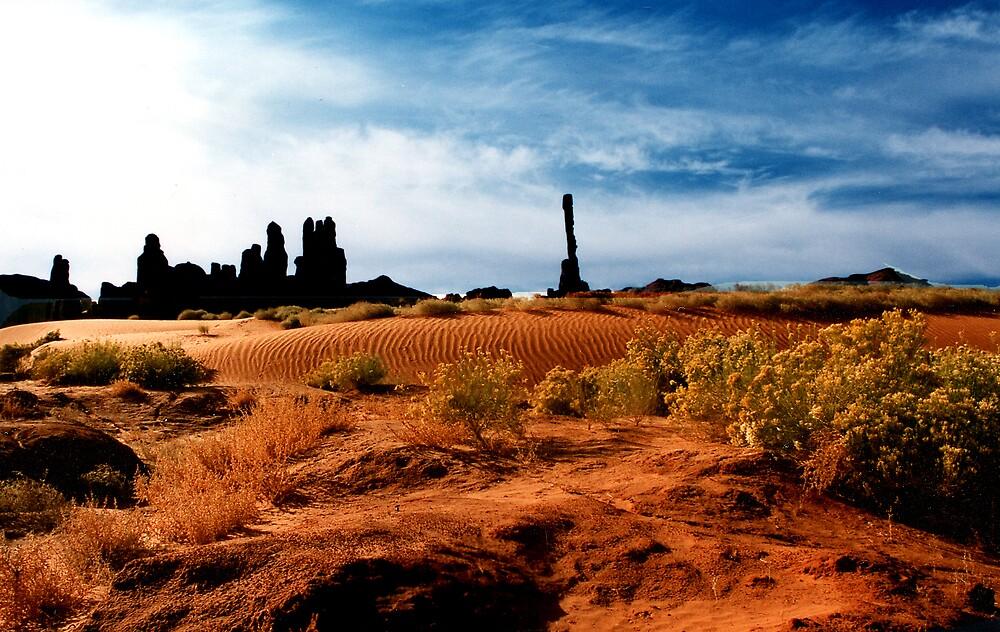 Monument Valley by steveberlin