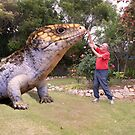 Feeding our resident lizard by georgieboy98