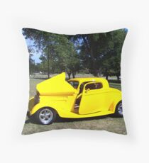 1933 Ford Coupe Throw Pillow