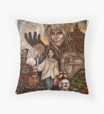 Labyrinth Floor Pillow