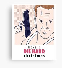 Die Hard Christmas Canvas Print