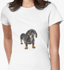 A Dachshund Called Alice Women's Fitted T-Shirt