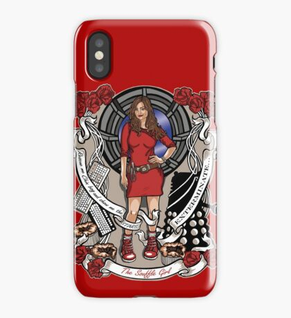 The Souffle Girl (pillow) iPhone Case