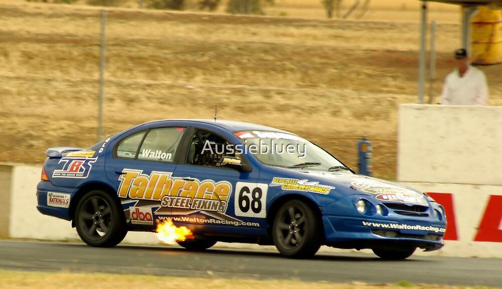 Fuel Burn. by Aussiebluey