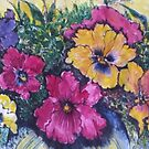 Pretty Pansy Design by Angela Gannicott