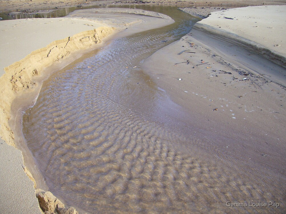 sand patterns by Gemma Louise Pap