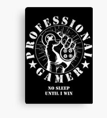 GAMING - PROFESSIONAL GAMER - VIDEOGAME  Canvas Print