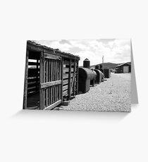Boxcars Greeting Card