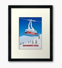 Snowbird Ski Resort Framed Print