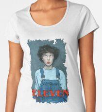 Eleven from Stranger Things Women's Premium T-Shirt