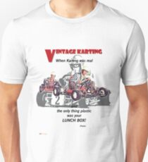 Vintage Karting, When Karting was real  T-Shirt