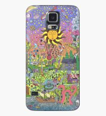 PSYCHEDELIC SUNSET Case/Skin for Samsung Galaxy