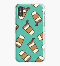 Take it Away Coffee Pattern iPhone Case/Skin