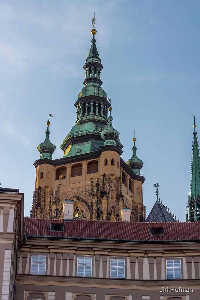 Prague Castle by Jiri Hofman