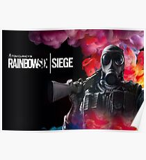 rainbow six siege smoke Poster