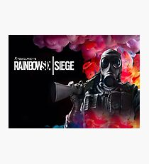 rainbow six siege smoke Photographic Print