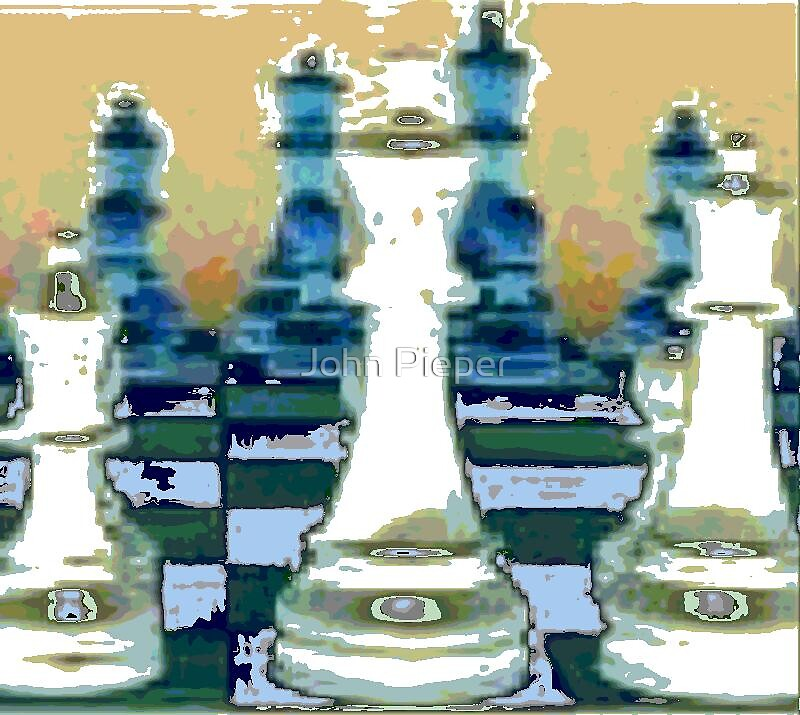 The Chess Game by John Pieper