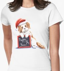 Happy puppy new year T-Shirt