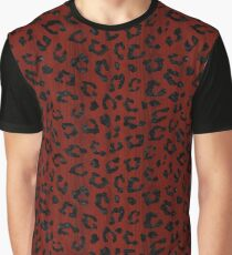 SKIN5 BLACK MARBLE & RED WOOD (R) Graphic T-Shirt