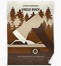 No818 Mein Onkel Buck minimales Filmplakat Poster