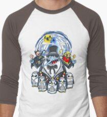 Penguin Time Men's Baseball ¾ T-Shirt