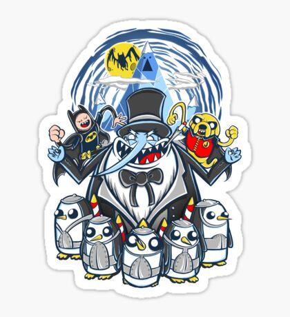 Penguin Time Sticker
