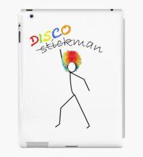 Discoman White iPad Case/Skin